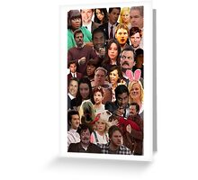 Parks and Recreation Collage Greeting Card