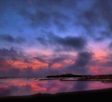 SUNSET ON LAGUNA BEACH by Spiritinme