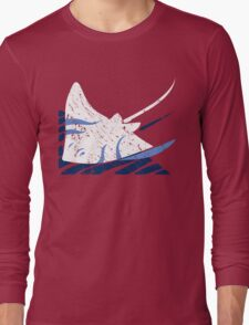 Blue Stingrays Long Sleeve T-Shirt