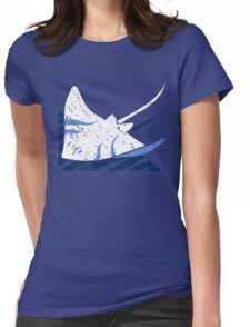 Blue Stingrays Womens Fitted T-Shirt