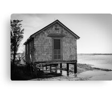 Assateague Island Shack Canvas Print