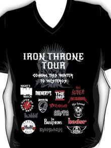 Iron Throne Tour (Game of Thrones Shirt) T-Shirt