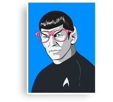 Pop Art Spock Star Trek  Canvas Print