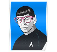 Pop Art Spock Star Trek  Poster