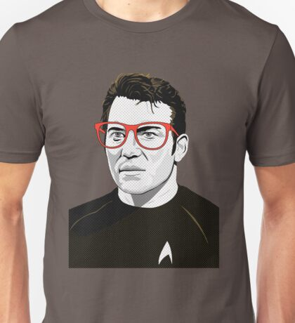 Pop Art Spock Star Trek  Unisex T-Shirt
