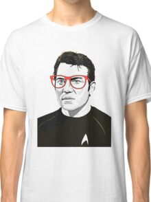 Star Trek James T. Kirk (William Shatner) Pop Art  illustration Classic T-Shirt