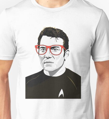 Star Trek James T. Kirk (William Shatner) Pop Art  illustration Unisex T-Shirt