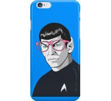 Pop Art Spock Star Trek  iPhone Case/Skin
