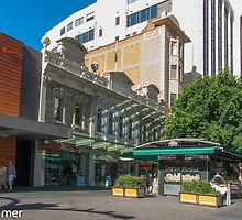 Rundle Mall - Old and New buildings  by DPalmer