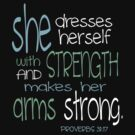 Proverbs 31 Workout Shirt by Leah Price