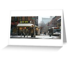 Snow-Sweeper, 2nd Avenue Greeting Card