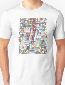 ESL Word Cloud T-Shirt