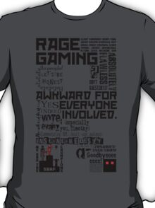 Rage Medley - Black T-Shirt