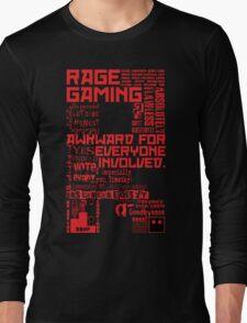 Rage Medley - Red Long Sleeve T-Shirt