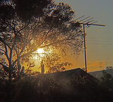 The Morning Sky - Kilmore East Vic Australia by Margaret Morgan (Watkins)