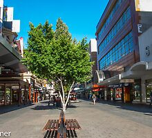 Rundle Mall - Down the Centre  by DPalmer