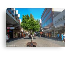 Rundle Mall - Down the Centre  Metal Print