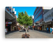 Rundle Mall - Down the Centre  Canvas Print