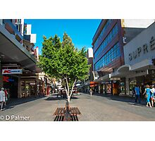 Rundle Mall - Down the Centre  Photographic Print