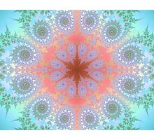 Doily Fractal Variation Photographic Print