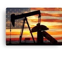American Oil  Canvas Print