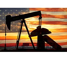 American Oil  Photographic Print