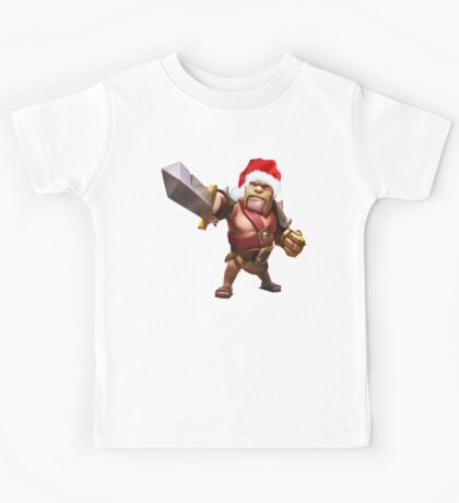 Barbarian Claus Kids Tee
