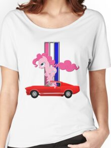 Mustang Pinkie Pie  Women's Relaxed Fit T-Shirt