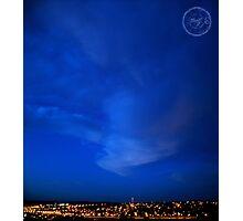 ©HCS Blue Genius Photographic Print