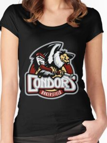 Bakersfield Condors Women's Fitted Scoop T-Shirt