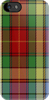 00778 BeeJay Fashion Tartan Fabric Print Iphone Case by Detnecs2013