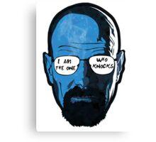 Heisenberg knock  Canvas Print