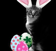 Easter Bunny Cat by Ladymoose