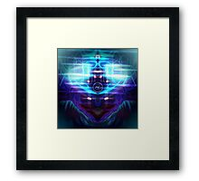 ©AS-NLE Friday Night Portraid Framed Print