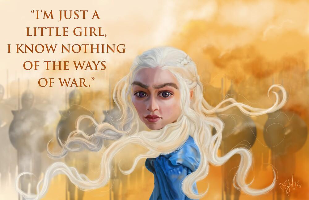 Daenerys Targaryen by JenSnow