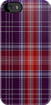 00789 Brides Plaid (artefact) Tartan Fabric Print Iphone Case by Detnecs2013