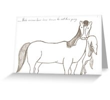 Planet Narnia Greeting Card