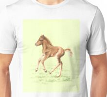 Red Pony Foal - Three Days Old Unisex T-Shirt