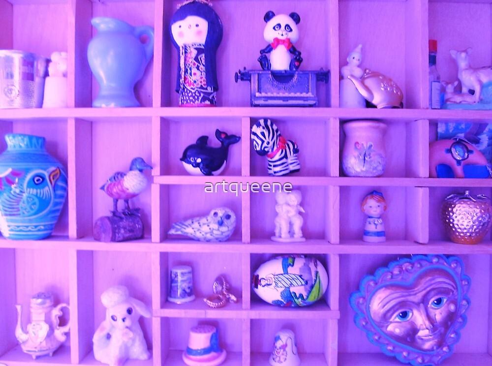 Lavender Curios and Trinkets by artqueene