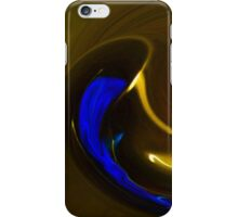 Pouring Out The Blues iPhone Case/Skin