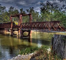 Spirit Of Progress Crossing Tocumwal Rail Bridge by djzontheball
