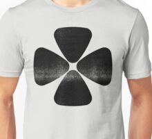Four Leaf Clover - Black Unisex T-Shirt