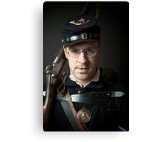 the soldier in all of us Canvas Print