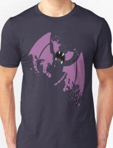 Zubat paint splatter Unisex T-Shirt