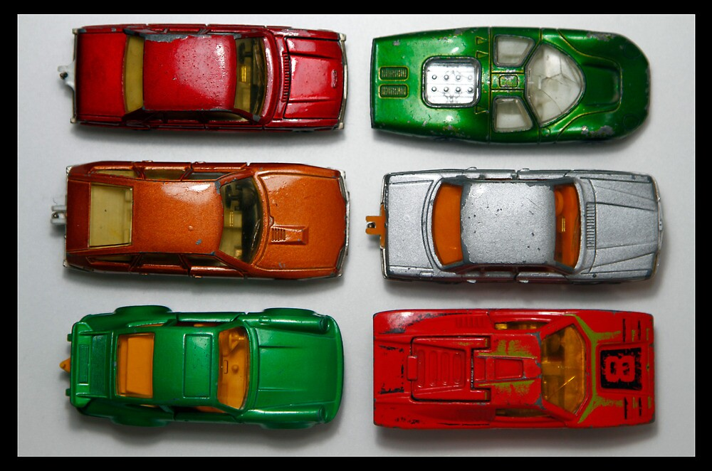 toy cars by Keith Midson
