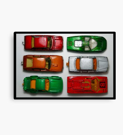 toy cars Canvas Print