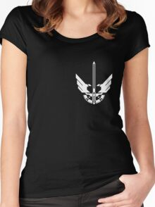 halo 4 UNSC Spartan Armor Women's Fitted Scoop T-Shirt