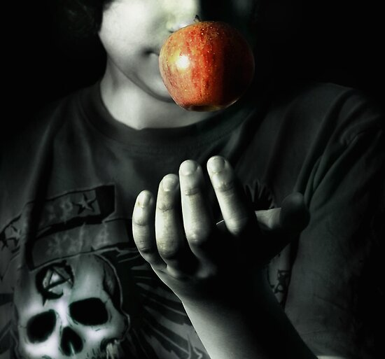 An apple a day by Melanie Collette