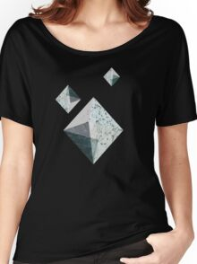 Marbled Stones Women's Relaxed Fit T-Shirt