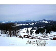 snow magic Photographic Print
